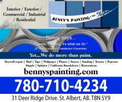 BENNY'S PAINTING LTD
