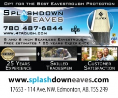 SplashDown Eaves